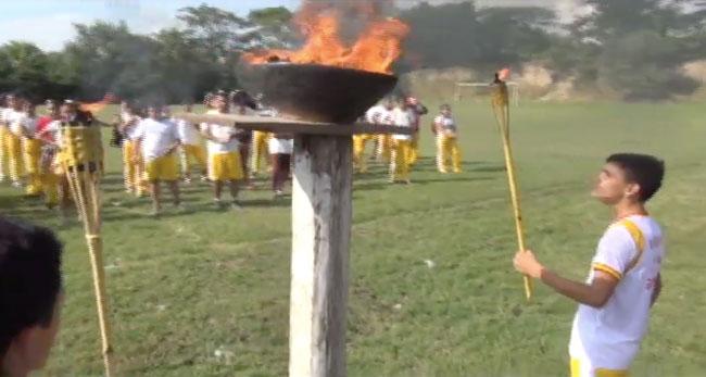 Con mini olimpiada I.E. 0026 de Santa Rosa de Cumbaza inicia su aniversario