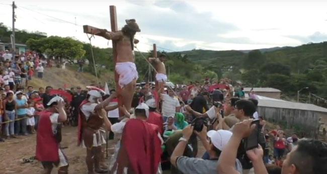 Picota: escenificación de la vida, pasión y muerte de Jesucristo