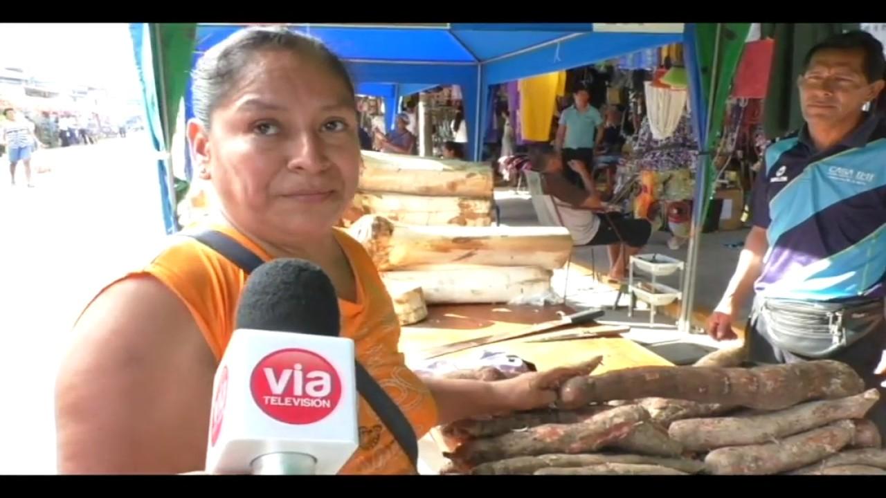 Precio de la chonta varía de 3 a 25 soles en mercado del Huayco