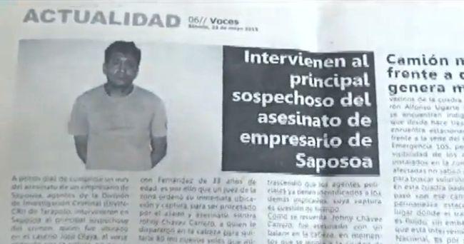 Anuncian traslado de interno a Lima por tumoración en el pulmón