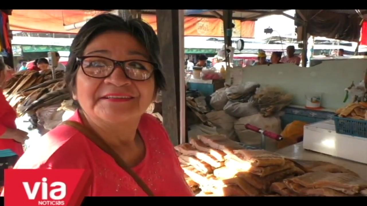 Tarapoto: pescado fresco y seco muy solicitados en Semana Santa