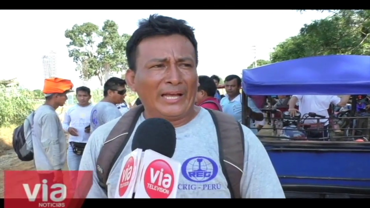 Trabajadores de construcción civil paralizan obra de nueva Escuela de la PNP