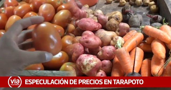 Tarapoto: se incrementarían precios de productos por paro agrario