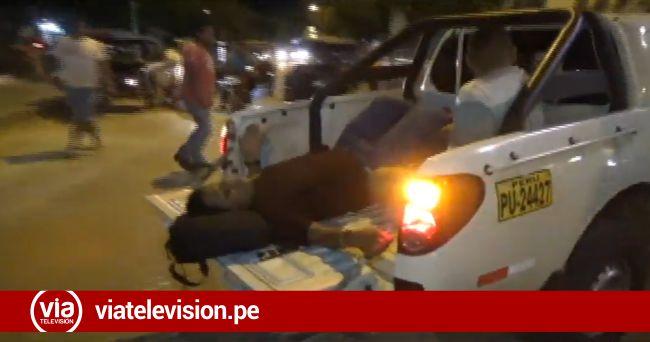 Cacatachi: motociclista resulta herido al ser embestido por camioneta