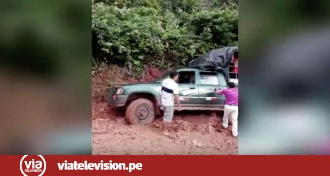 Carretera a Alto Andino se encuentra en pésimas condiciones