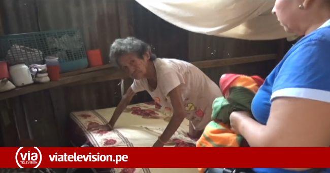 Anciana natural de Sauce vive en total abandono y en pésimas condiciones