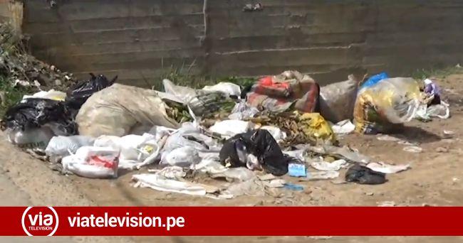 Tarapoto: basura acumulada causa  malestar en mototaxistas