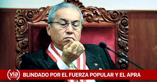 Fujiaprismo blindó nuevamente a Pedro Chávarry en el Congreso