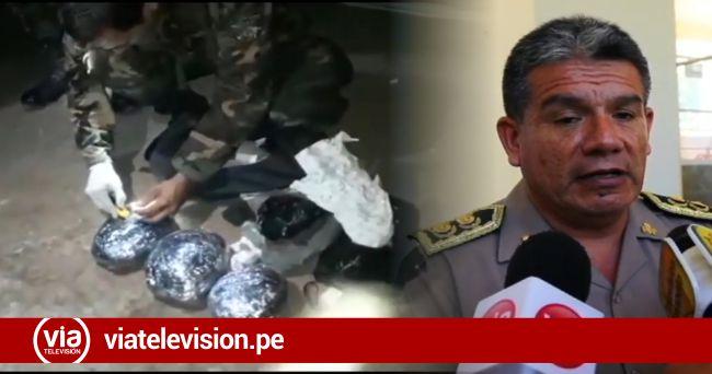 Macro región policial destaca decomiso de PBC y captura de delincuentes