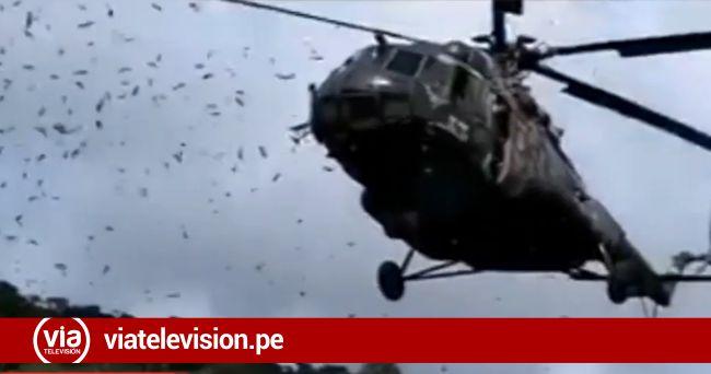 Perú: difunden video del momento del accidente del Ejército