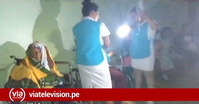 Evacúan a pacientes de La Banda de Shilcayo al hospital de Tarapoto