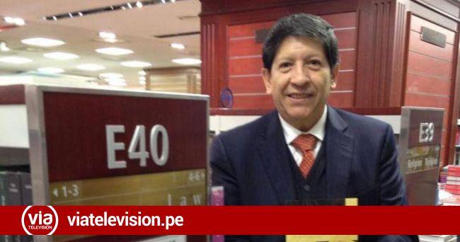 Magistrado del Tribunal Constitucional desaparece en Trujillo, varias horas después es hallado en night club
