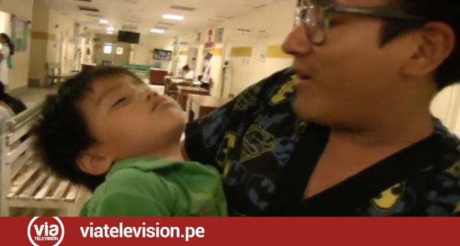 Niño es encontrado semidesnudo en lavandería de hospital