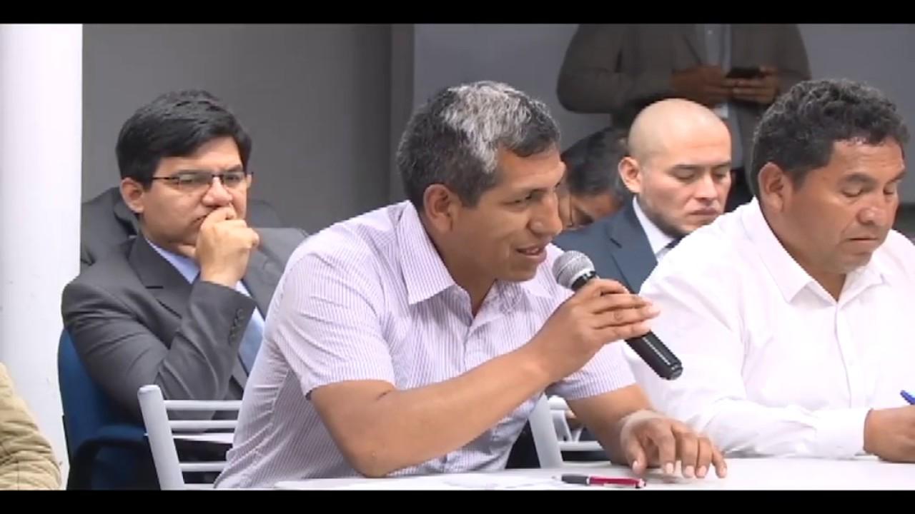 Ministra Fabiola Muñoz se reunió con productores agrarios y alcanza acuerdos
