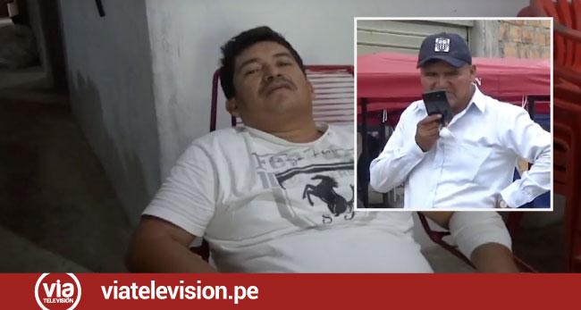 Mototaxista exige a funcionario municipal se haga cargo de las víctimas