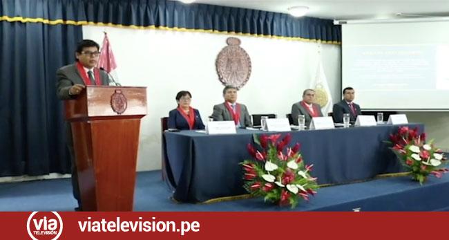 Moyobamba: Ministerio Público celebra aniversario y día del fiscal