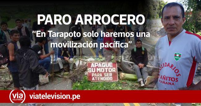 Paro agrario: productores de arroz de Tarapoto no bloquearán carreteras