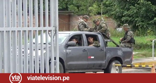 Tarapoto: despliegue policial por  inicio de paro agrario nacional