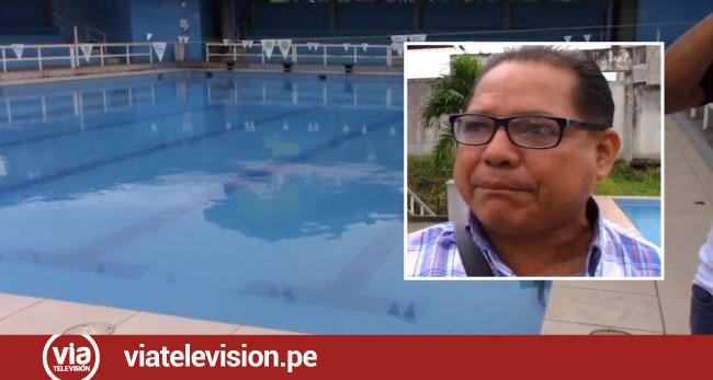 Analizarán piscina de la UNSM antes de iniciar Juegos Deportivos Escolares 2019