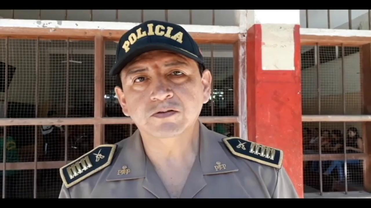 PNP conforma patrullas escolares en I.E. Juan Miguel Pérez