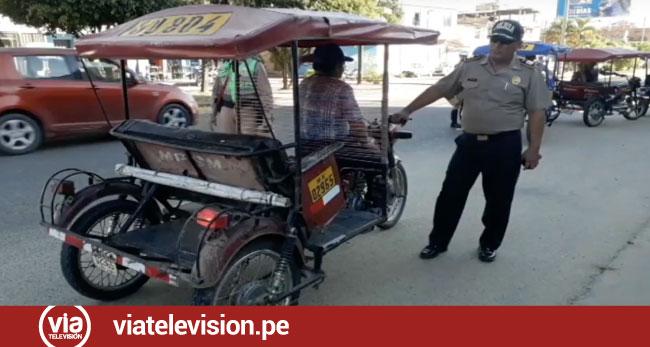 Tarapoto: imponen papeletas por ruidos molestos  a más de 30 conductores de motocicletas
