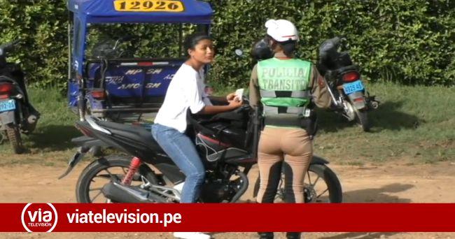 Policía ejecuta operativos contra conductores sin casco y documentos en regla