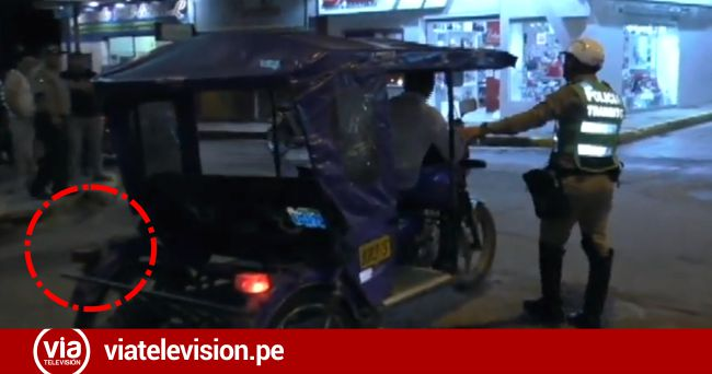 Tarapoto: imponen papeletas a conductores de motos por circular sin luces