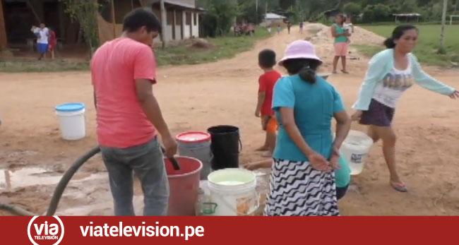 Sauce: pobladores demandan más cisternas para abastecerlos con agua potable