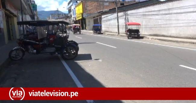 Tarapoto: líneas de borde en Jr. Jiménez Pimentel genera confusión en conductores