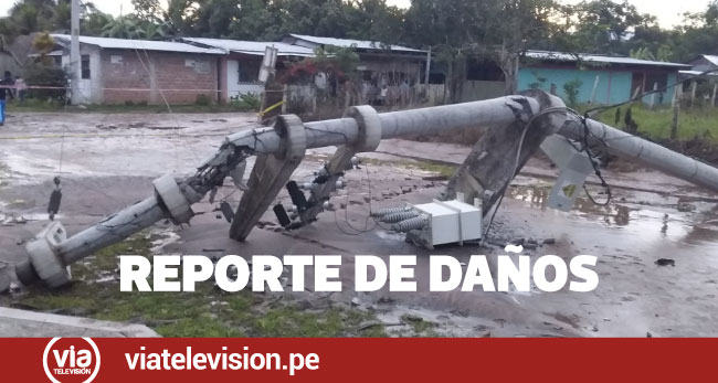 Loreto: hay un muerto, 205 familias damnificadas y otras 238 afectadas