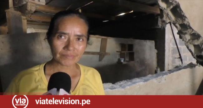 Familias damnificadas pernoctan en viviendas de familiares