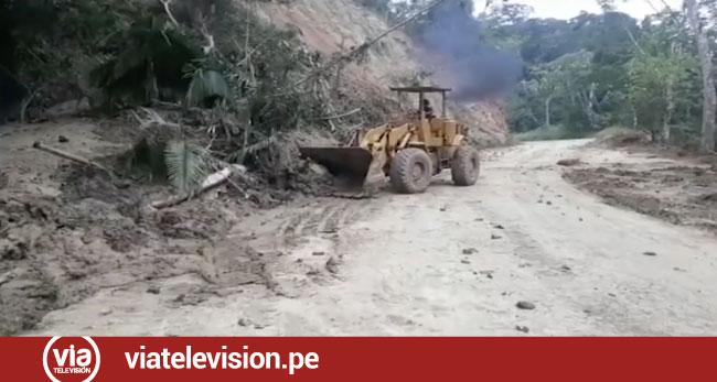 Inician trabajos para rehabilitar tramos Shapaja – Chazuta