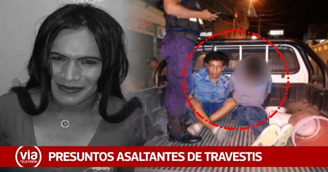 Tarapoto: detienen a presuntos arrebatadores de carteras