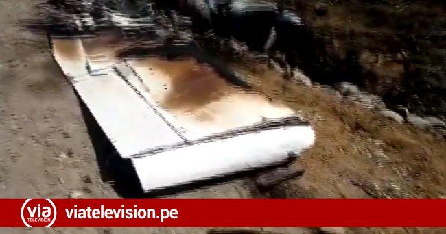 Tocache: avioneta boliviana que fue incendiada iba a trasladar droga