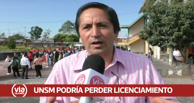 Tarapoto: UNSM corre riesgo de ser multada con 100 UITs por denuncias de acoso sexual