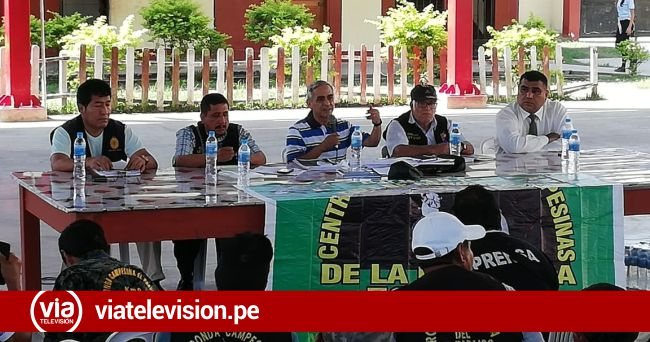 Expresidente del Poder Judicial Duberlí Rodríguez capacitó a ronderos