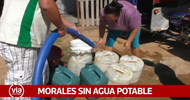 Morales: rotura de tubería deja sin servicio de agua potable a usuarios