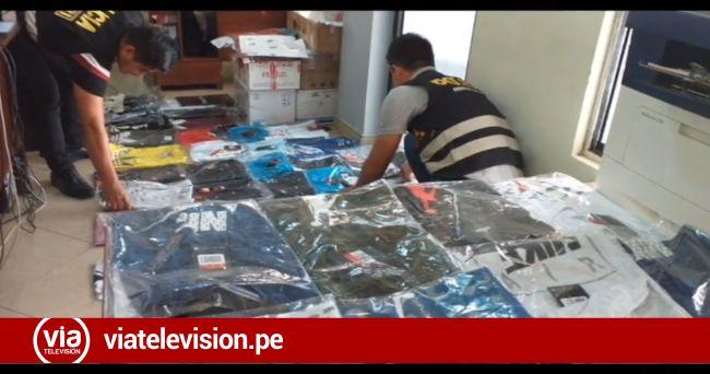 Tarapoto: incautan prendas de vestir al parecer de contrabando valorizadas en 4500 soles