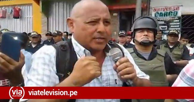 Ronderos protestan exigiendo destitución de funcionarios del ministerio público