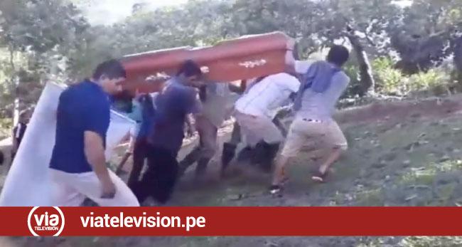 Sepultan a agricultor que fue asesinado de un disparo con escopeta