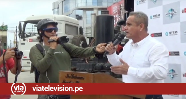 """Tarapoto: presentan maquinarias para el proyecto """"operación alcantarillado"""""""