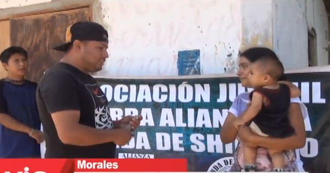 Barristas de Alianza Lima apoyan a niño que necesita ser operado