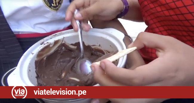 Escolares presentan proyecto  para combatir la anemia en San Martín
