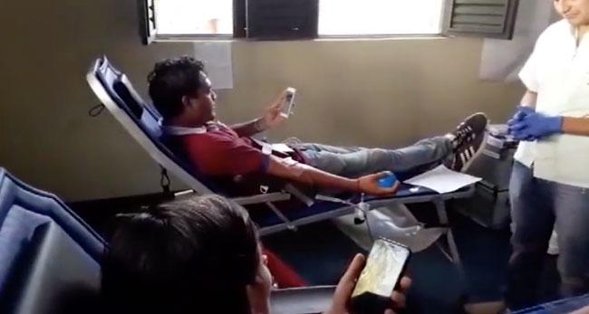 Con éxito realizan campaña de donación voluntaria de sangre en El Dorado