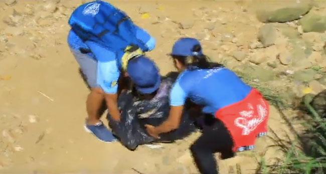 Organización juvenil realiza limpieza de quebrada Choclino