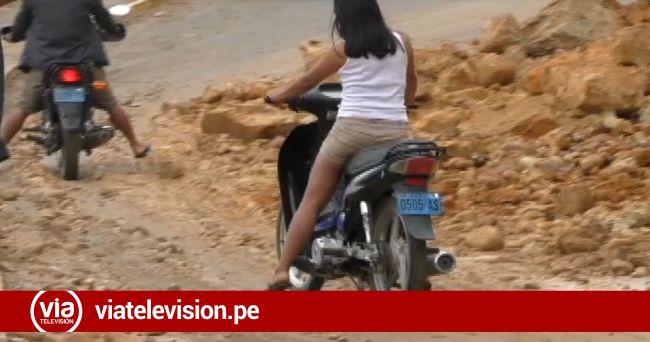 Constantes derrumbes de cerro pone en riesgo vida de pobladores