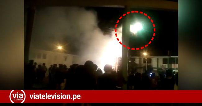 Picota: explosión de bombardas deja nueve heridos en aniversario de Colegio.