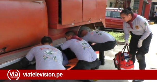 Tarapoto: Bomberos capacitan a policías en rescate y primeros auxilios