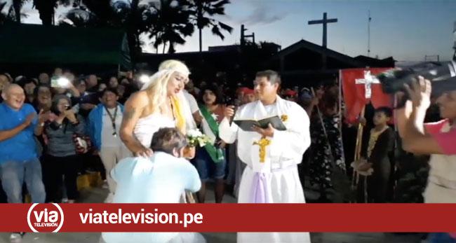 Tarapoto: presentan divertidas parodias en tradicional Wasipichana