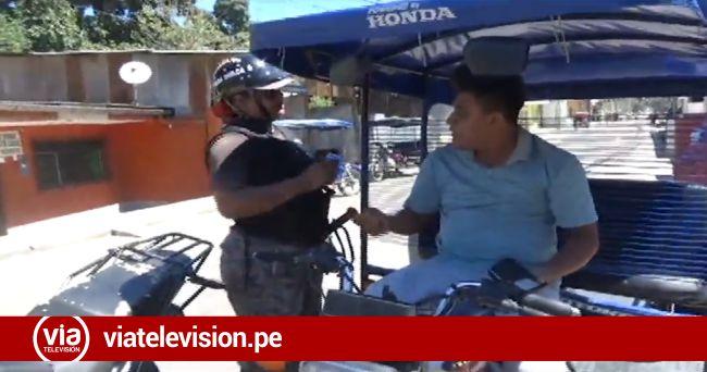 La Banda de Shilcayo: conductores irresponsables no  respetan operativos de tránsito